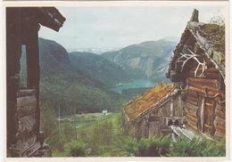 Setesdalen - Utsikt Fra Huldraheimen Museum, Bykle -  (Norge/Norway) - Noorwegen
