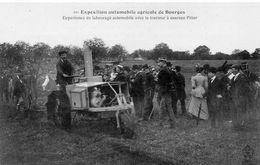 Agriculture Animée Exposition Automobile Agricole De Bourges Tracteur Pilter Labourage Culture Agricole Ferme Paysan - Tracteurs