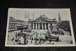129- Brussel/Bruxelles, La Bourse - 1932 / Stempel / Tram - België