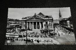130- Brussel/Bruxelles, La Bourse / Tram - België