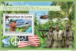 GUINEA 2015 SHEET VIETNAM WAR GUERRE Gu15213b - Guinea (1958-...)