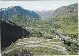 Austmannali, Roldal - Ruten Hardanger-Telemark - Hair-pin Bends Road -  (Norge/Norway) - Noorwegen