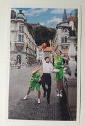 Slovenia Basketball Cards Stickers Nr.177 Ljubljana Basketball On The Bridge  EUROBasket 2013 - Vignettes Autocollantes