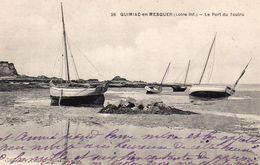 Quimiac Mesquer Le Port Du Toulru Voiliers - Mesquer Quimiac