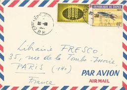 Guinea Guinee 1964 Conakry PP Blue Gularis Aphyosemion Coeruleum Freshwater Fish Hunger Cover - Guinee (1958-...)