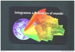 BOLIVIA  -  Urmet Phonecard As Scan - Bolivia