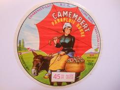 A-17149d - Etiquette De Fromage CAMEMBERT PARAPLUIE ROUGE - CHADENAC 17Q Charente-Maritime - Cheese