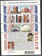 NL Sheet Grenzeloos Nederland & Belgie Dutch Artists In Belgium Mesdag, Smits, Wouters Painter - Beeldhouwkunst