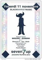 DISCOTECA SEVEN 7 UP, NUMANA (AN): BLACK MARKET MUSIC  -  RIF. 3807 - Musik Und Musikanten