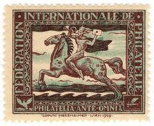 (I.B) Switzerland Cinderella : FIP Anniversary Stamp - Switzerland