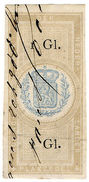 (I.B) Netherlands Revenue : Duty Stamp 1G (Plakzegel) - Nederland