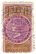 (I.B) Australia - NSW Revenue : Stamp Duty 1/6d - Australia