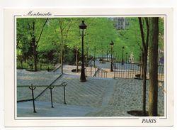 PARIS  18° --Montmartre (escaliers) - Arrondissement: 18