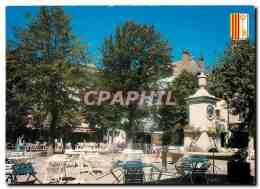 CPM Barcelonnette Place Manuel - Provence-Alpes-Côte D'Azur