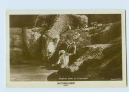 X1S03/ Fritz Lang Movie Star Film Die Nibelungen Old Ross Photo Postcard 1924 - Artisti