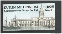 1988 MNH Booklet ,  Eire, Ireland, Irland, Postfris** - Libretti