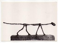Le Chat   1955--- A.GIACOMETTI-  Galerie Maeght  -- Paris - Sculptures