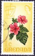 Grenada - Hibiskus (Hibiscus Rosa-sinensis) (MiNr: 277) 1968 - Gest Used Obl - Grenada (...-1974)