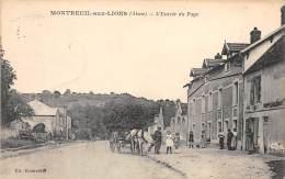 02 - AISNE / Montreuil Aux Lions - 022667 - Entrée Du Pays - Beau Cliché Animé - Other Municipalities