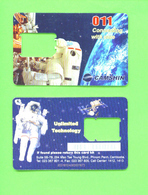 CAMBODIA - SIM Frame Phonecard As Scan - Cambodia
