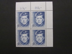 BRD Nr. 453 Viererblock Eckrand Postfrisch** (C47) - BRD