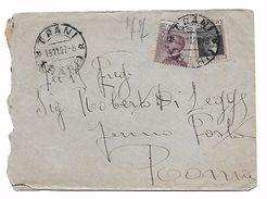 EDB96 - REGNO , Lettera Da Trani 19/11/1927 - 1900-44 Vittorio Emanuele III