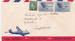 Brief In Die Schweiz (br1579) - 1952-.... Elizabeth II