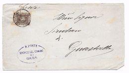 EDB101 - REGNO , Sovracoperta Da Gualtieri 4/5/1900 - 1878-00 Umberto I