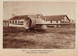 AVION TUBE STIPA CAPRONI 1933 - Non Classificati
