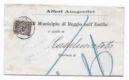 EDB106 - REGNO , Da Reggio Emilia 7/9/1911 - 1900-44 Vittorio Emanuele III