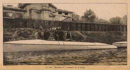 OFFSHORE Canot Mercedes IV Course Calais Douvre 1904 - Non Classificati