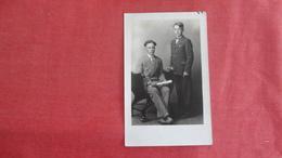RPPC   Two Young Men   Fashion Ref 2720 - Fashion