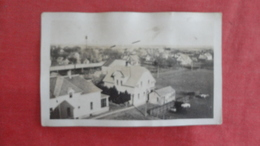 RPPC  Town View Card Has Ripple Ref 2720 - Postcards