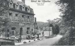 Verlaine - Hôtel De L'Ourthe Route De Scy - Pas Circulé - Datée De 1956 - Animée - TBE - Verlaine