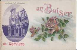 Verviers - Un Baiser De - Eglise Du Culte Evangeliste - Pas Circulé - BE - Verviers
