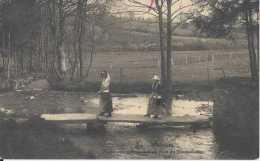 Vielsalm - Paysannes Ardennaises Au Pont Du Tiennemesse - Circulé En 1928 - Animée - TBE - Vielsalm