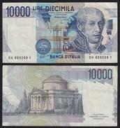 ITALIEN - ITALY 10000 10.000 Lire Banknote 1984 VF Pick 112d    (19952 - Italia