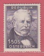 1954 ** (sans Charn., MNH, Postfrish)  Yv  829Mi  996ANK 1005 - 1945-.... 2ème République