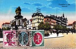 Carte Postale Postkard Frankfurt Am Main Deutsche National Versammlung 1919 Nationalversammlung Élection - Lettres & Documents