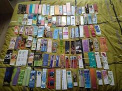 Grande Collection De Marque-Pages, 100 Différents, France - Marque-Pages