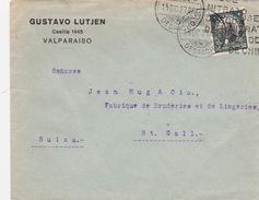 Brief In Die Schweiz (br1621) - Chile