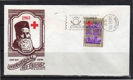 Red Cross Henri Dunant Early FDC (155) - FDC