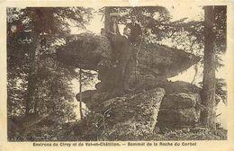 ENVIRONS DE CIREY  Et De Val Châtillon, Sommet De La Roche Du Corbet. - Cirey Sur Vezouze