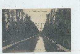 Léré (18) : Vue Panoramique Sur Le Canal Avec Halage De Péniche En  1913 (animé) PF. - Lere