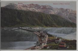 Melide - Bissone Et Monte Generoso - Photo: Guggenheim No. 7282 - TI Tessin