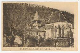 46 - Espagnac-Sainte-Eulalie         L'Eglise - France
