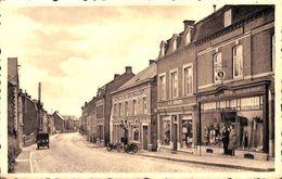 Havelange - Rue De La Poste (tabacs Dunlop Pompe à Essence Motos, Publicité Pirlet, Edit Degrève) - Havelange