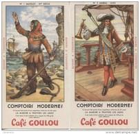 BUVARDS CAFE GOULOU - G