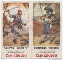 BUVARDS CAFE GOULOU - Buvards, Protège-cahiers Illustrés