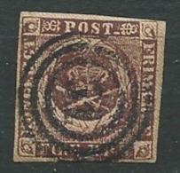 Danemark / Yvert N° 2 A Oblitéré   - Ad 32305 - Oblitérés